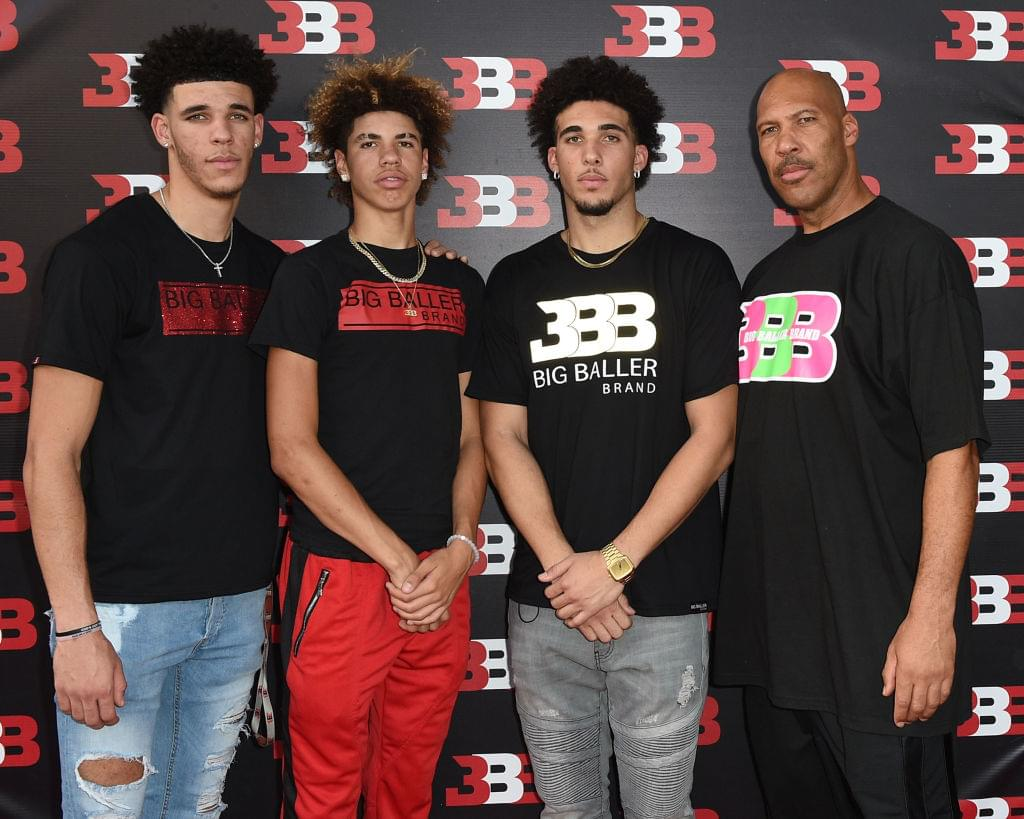 LaVar Ball Says His Sons Will Be The First Billionaires To Play In The NBA
