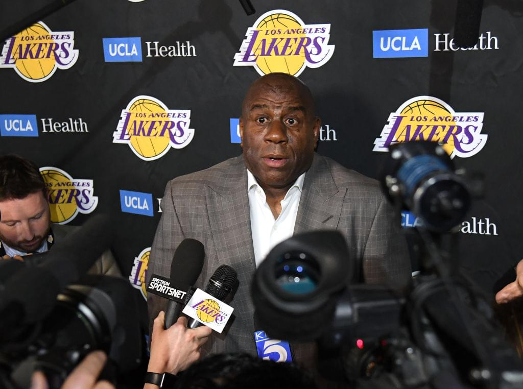 Magic Johnson Allegedly Bullied Lakers Staff