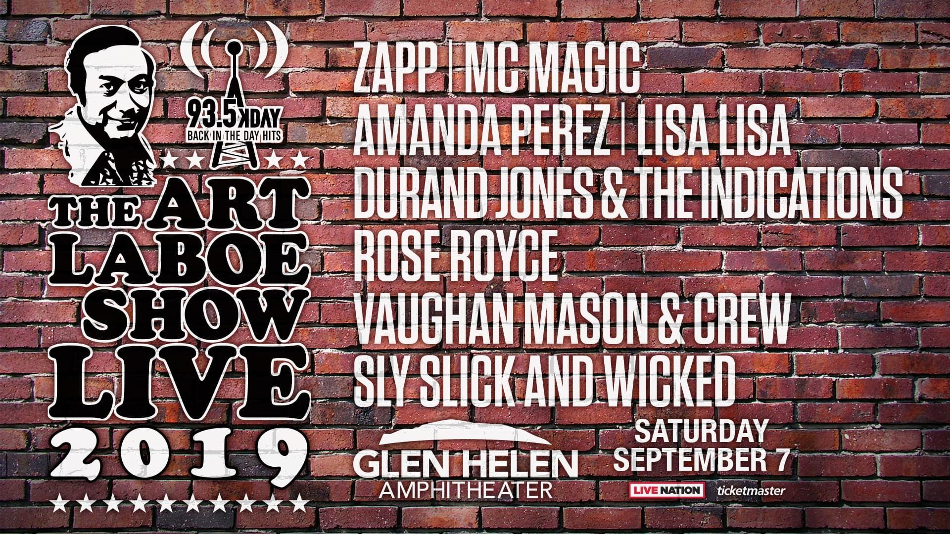 The Art Laboe Show Live | 2019