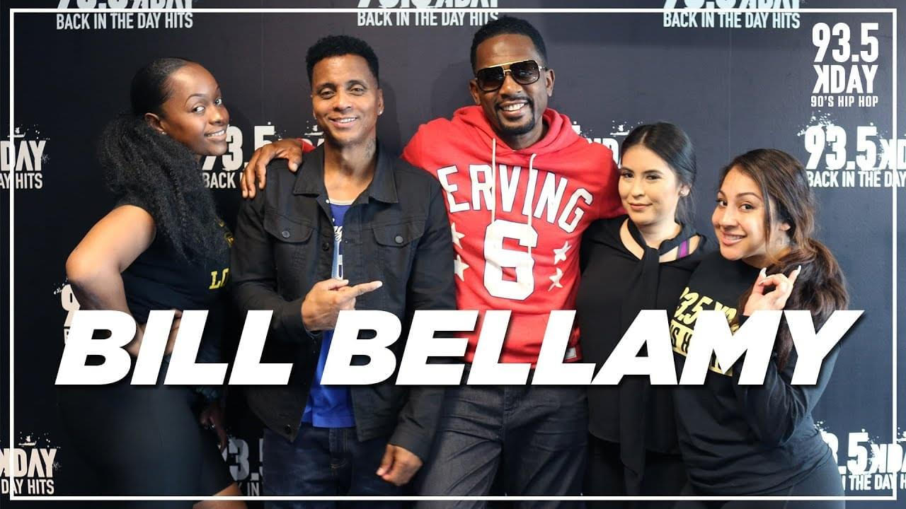 Bill Bellamy Talks Being Nervous At The Apollo, The NBA Finals, And His Favorite Basketball Team!