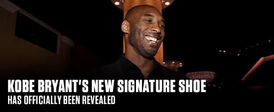 Kobe Bryant's New Signature Shoe Has Officially Been Revealed