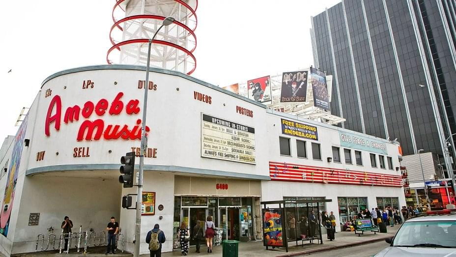 Hollywood's Amoeba Music Set To Relocate With A Dispensary License