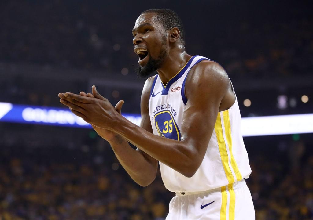 Warriors Will Reportedly Retire Kevin Durant's Number