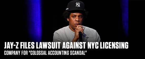 """Jay-Z Files Lawsuit Against NYC Licensing Company For """"Colossal Accounting Scandal"""""""