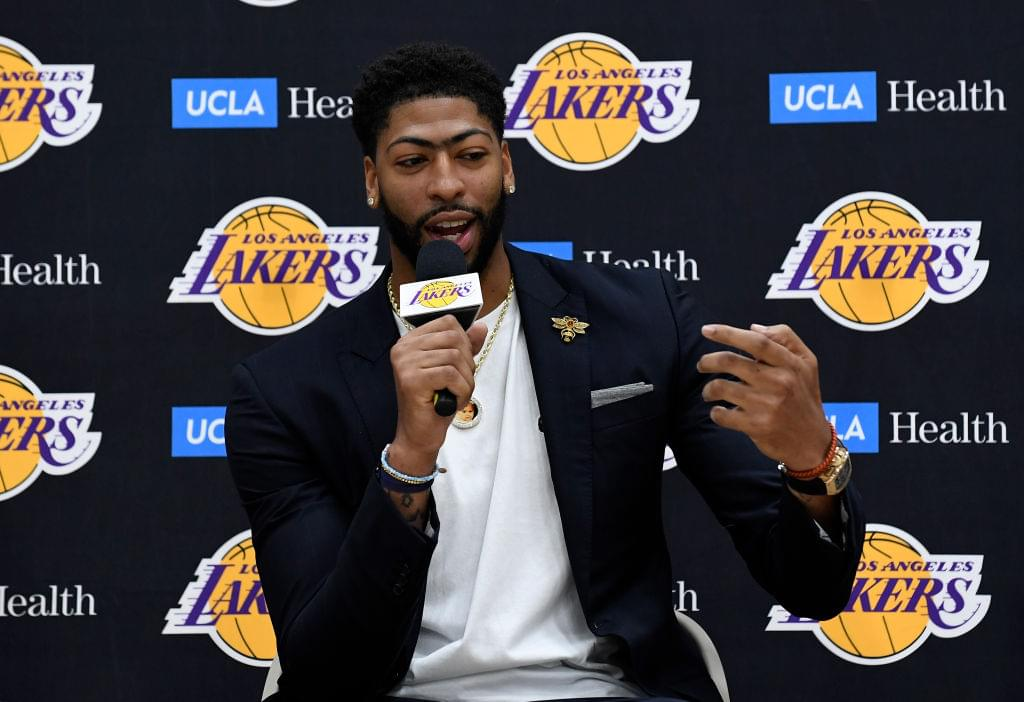 "Anthony Davis Says He Would Put Lakers' Roster ""Up Against Anybody"""