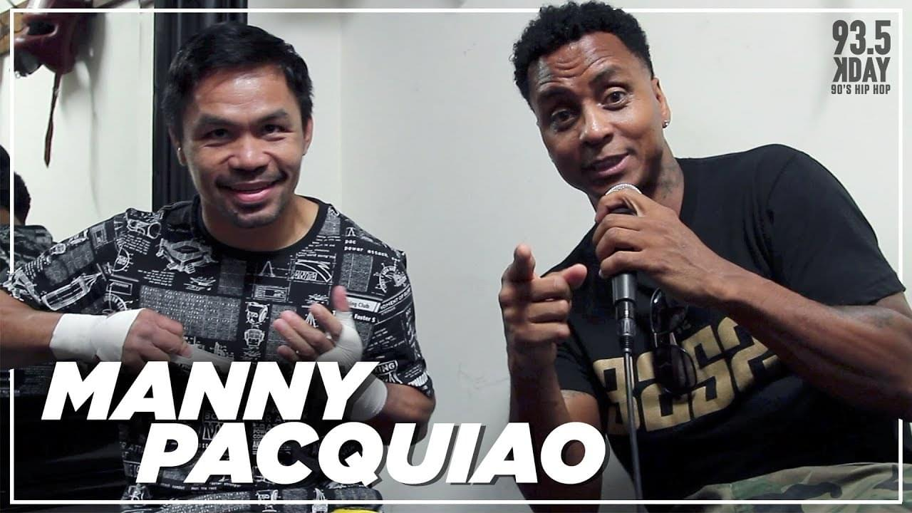 Manny Pacquiao On Rematch w/ Mayweather, How He Prepares For A Fight & What Motivates Him!