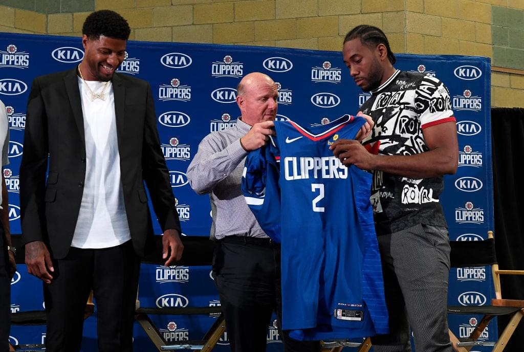 Clippers Owner Steve Ballmer Says He's Open To Changing Team Name & Logo