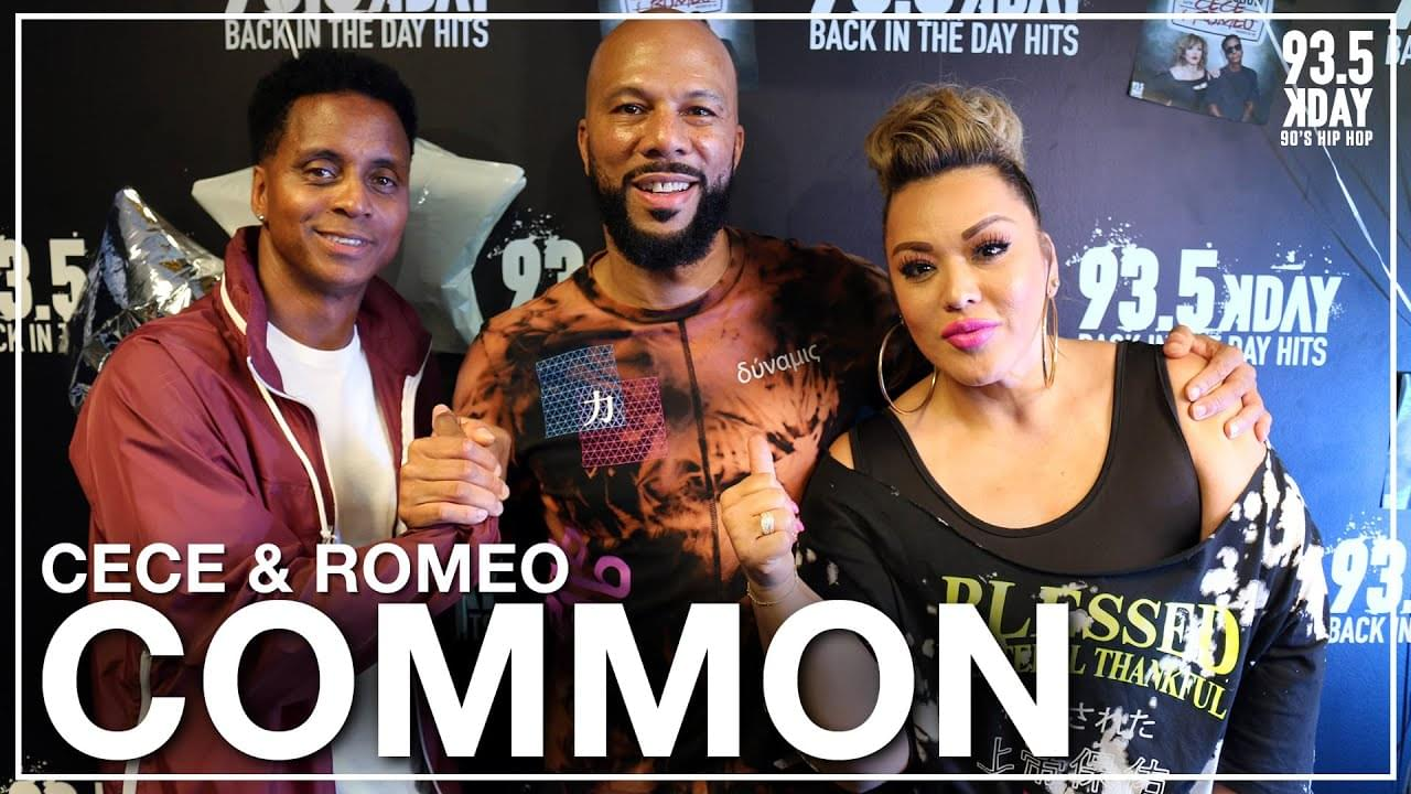 Common Talks New Album 'Let Love' Details, Obama Playing His Music In The White House, And More!