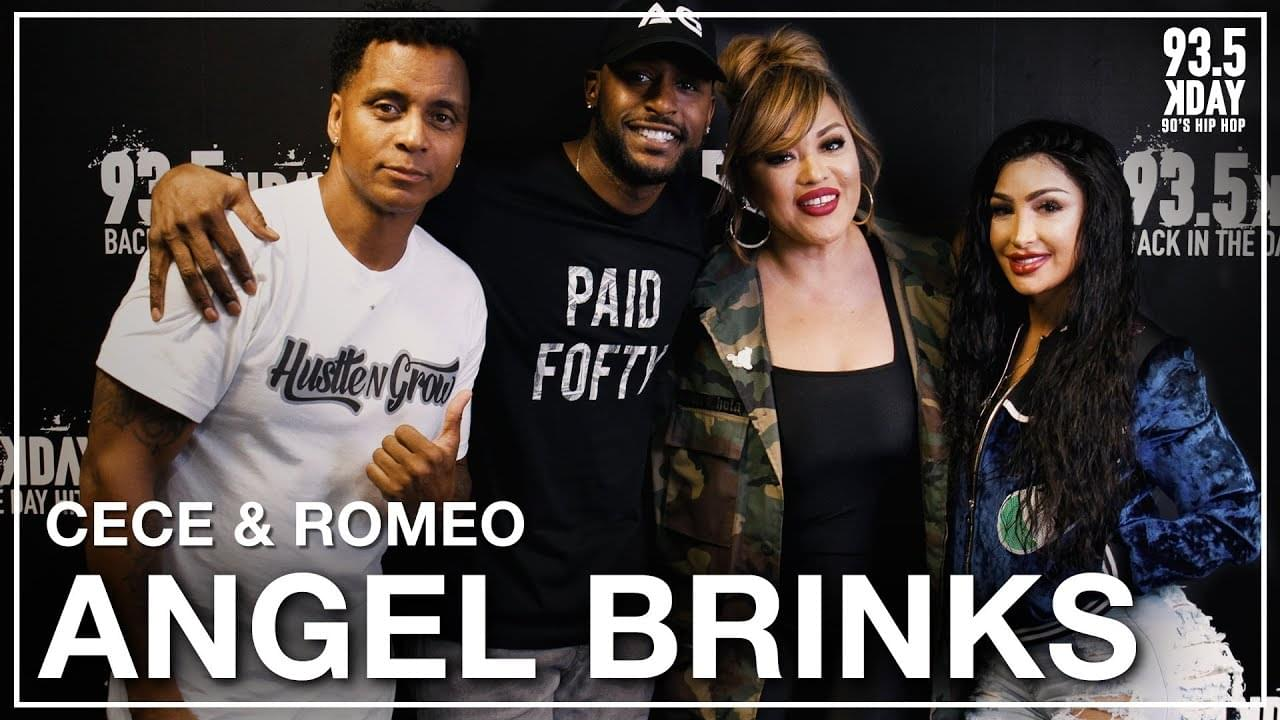 Angel Brinks Talks 'The Real Bling' Reality Show + Relationship w/ Jackie Long
