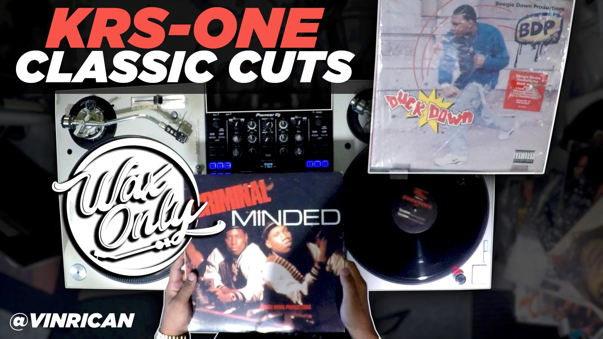 #WAXONLY: Power 106's Vin Rican Flips Through Classic Samples Used By KRS-ONE