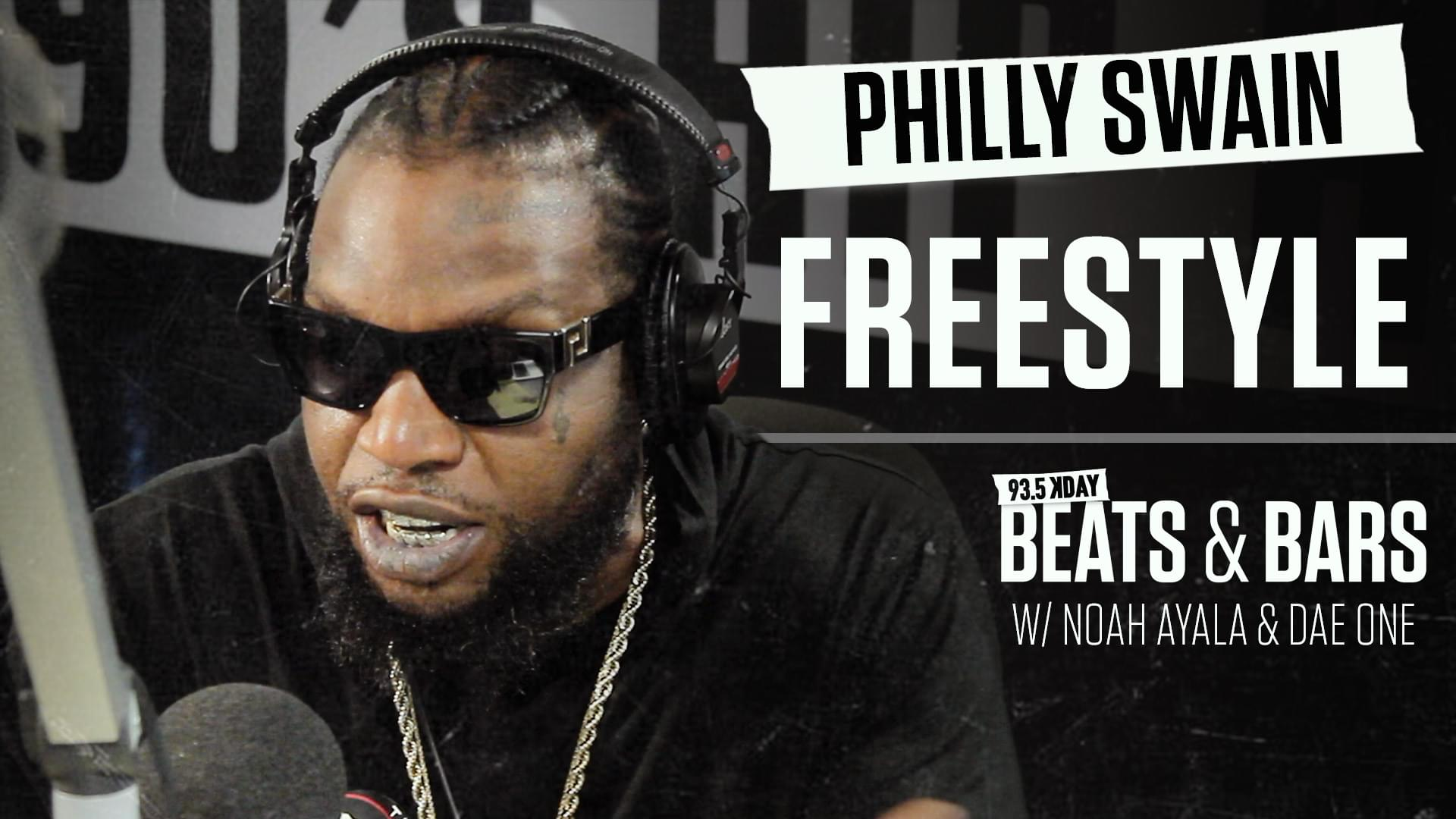 Philly Swain Freestyles Over Dae One Beat | BEATS & BARS