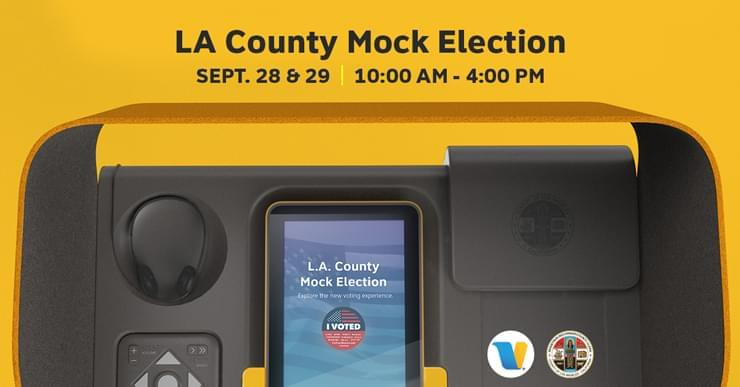 Voting in L.A. County will soon change!