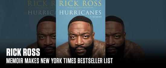 Rick Ross' Memoir Makes New York Times Bestseller List