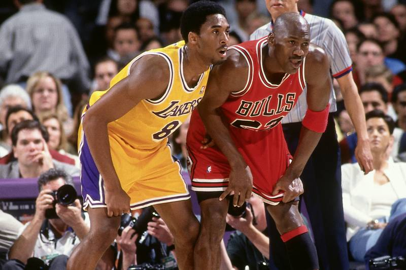 Kobe Bryant Reportedly Skipped College So He Could Face Michael Jordan