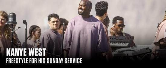 [WATCH]: Kanye West Freestyle For His Sunday Service