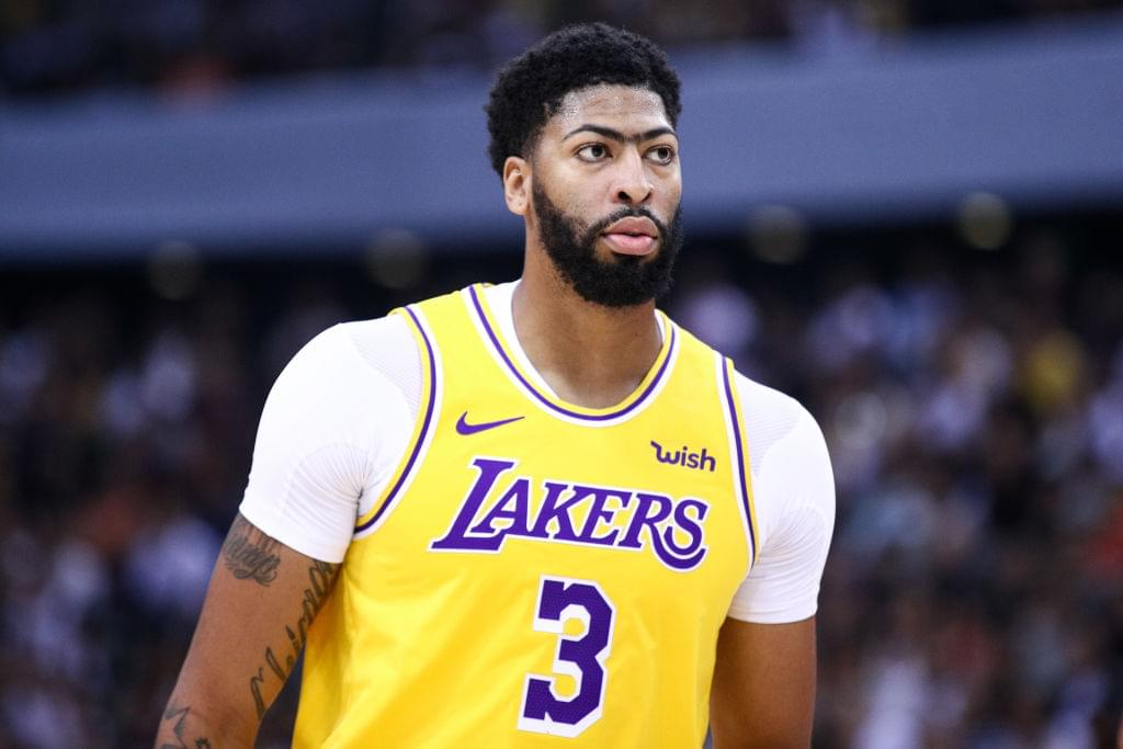 Lakers Reveal Anthony Davis' MRI Results