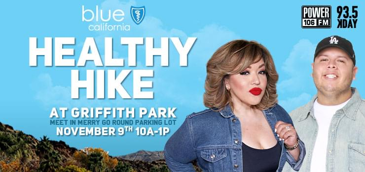 Join Power 106 & KDAY For the Blue Shield of CA Healthy Hike