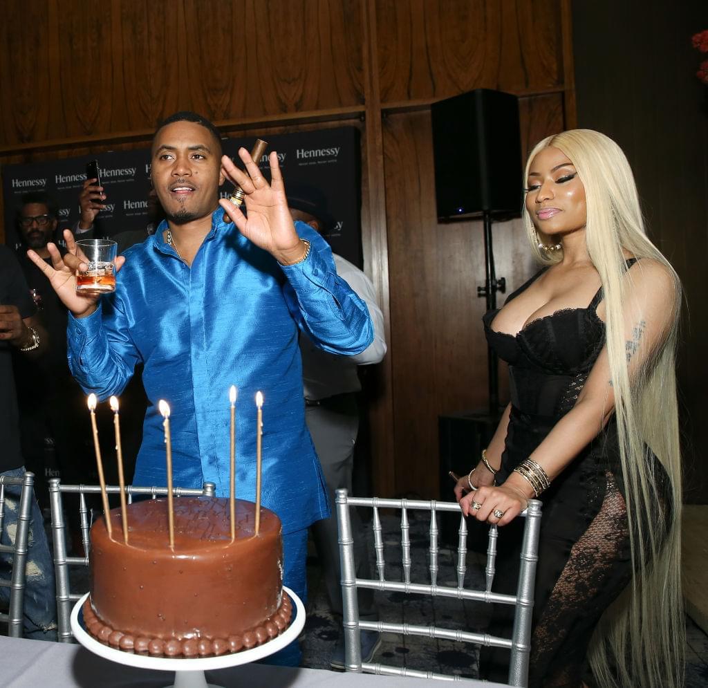 Nas & Nicki Minaj Are New Power Couple In '80s Themed Shoot   KPWR-FM