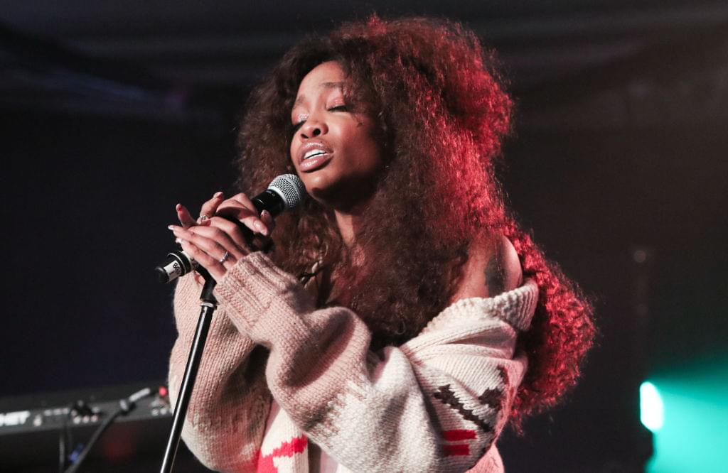 SZA Releases Acoustic 'Go Gina' Visual