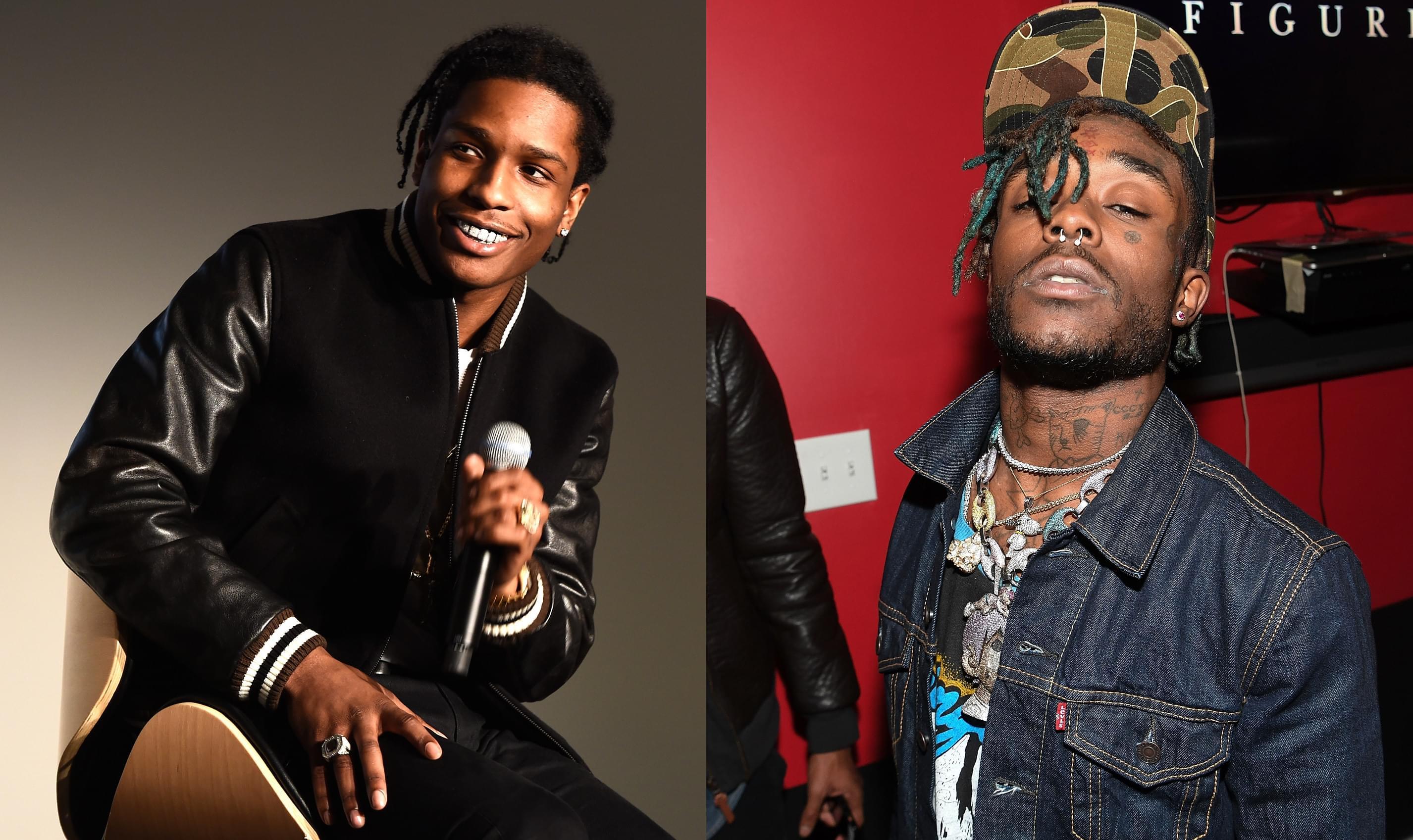 A Ap Rocky Co Signs Lil Uzi Vert In A Major Way Kpwr Fm