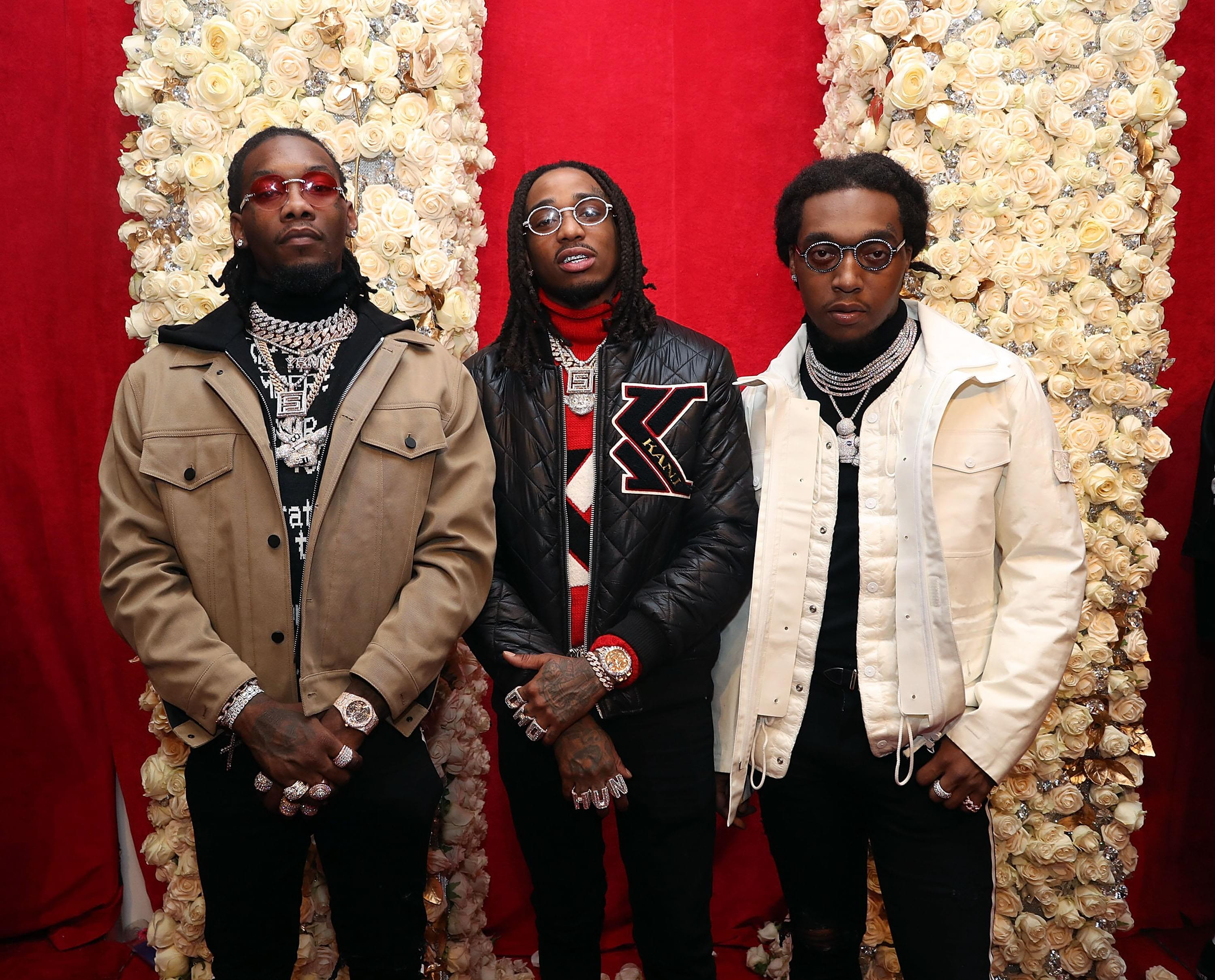 f30e90d91fe7 Migos Tie The Beatles For Most Simultaneous Hot 100 Entries Among Groups.