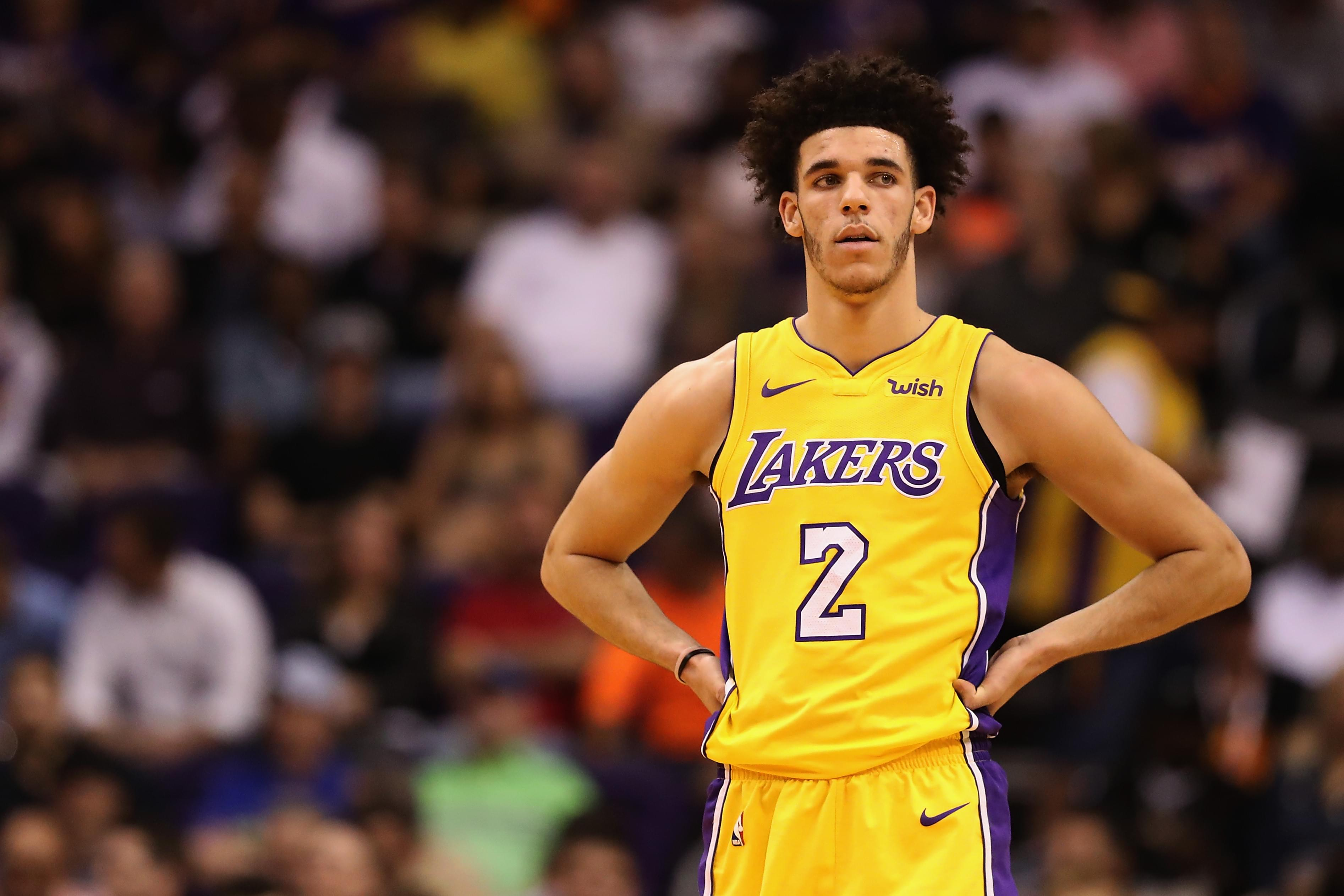 b198130f513 Lonzo Ball Expecting First Baby With Longtime Girlfriend | KPWR-FM