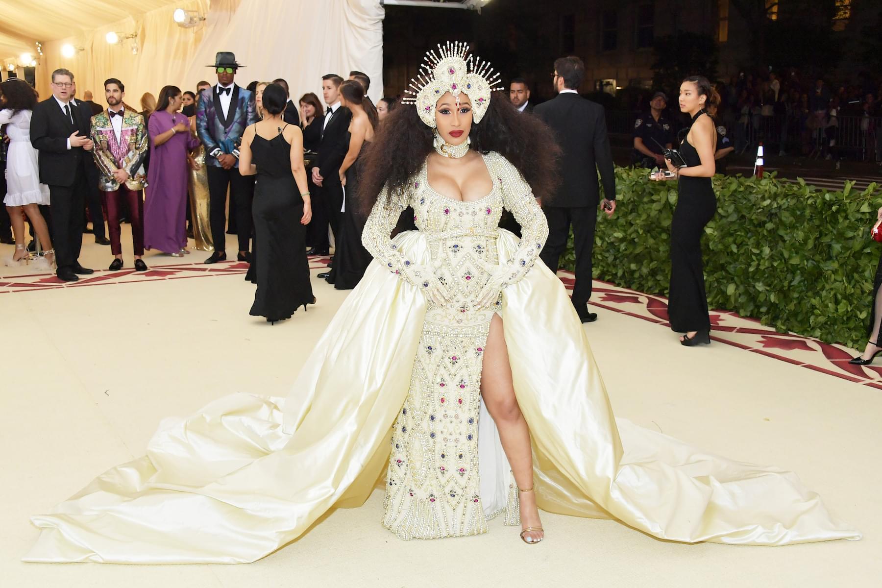 "Cardi B Apologizes For Offensive Lyrics On ""Girls"" By Rita Ora"