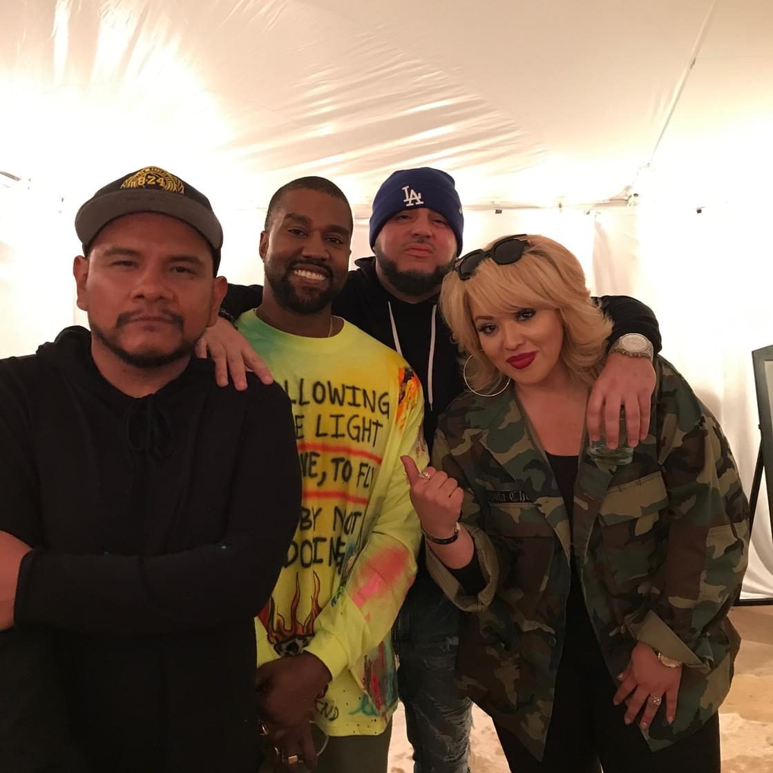 J Cruz, DJ Felli Fel, & Cece Hit Up Exclusive Kanye West