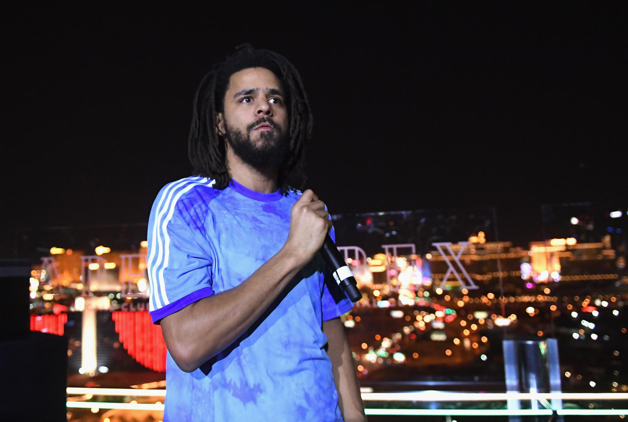 """J. Cole Reveals Baby On The Way In New Song """"Sacrifices"""""""