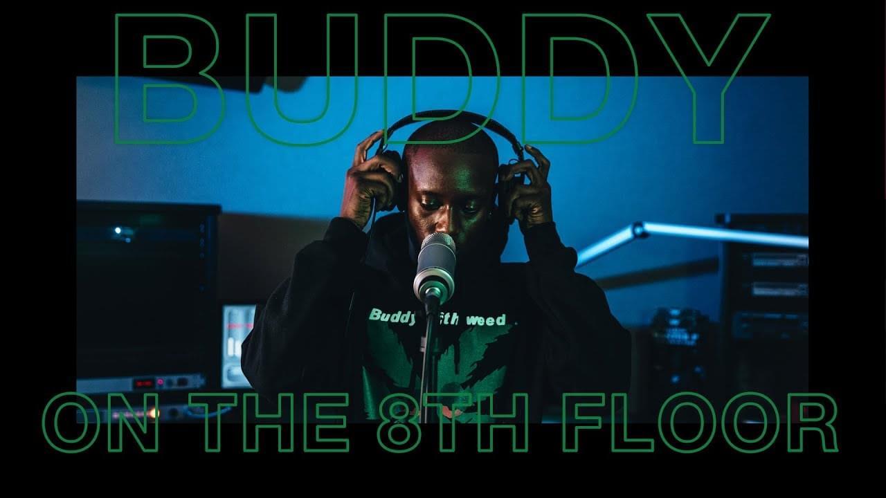 "Buddy ""Black"" LIVE | ON THE 8TH FLOOR | KPWR-FM"