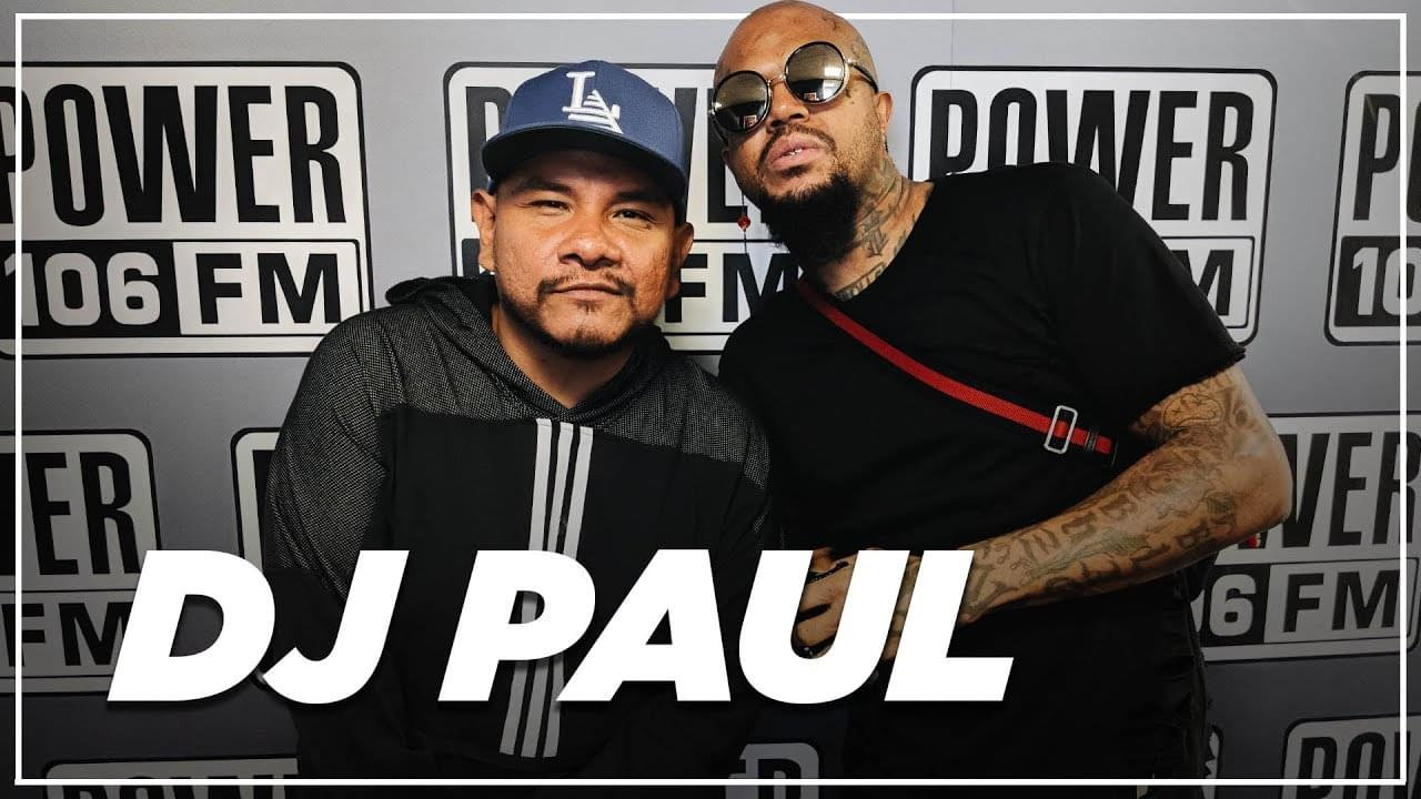 """DJ Paul On Producing Drake's """"Talk Up"""" ft. Jay-Z & Why There Won't Be A Three 6 Mafia Reunion [WATCH]"""