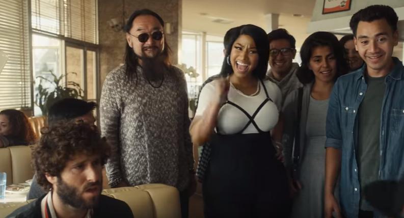 Nicki Minaj Quavo Lil Dicky Star In Madden 19 Ad Watch