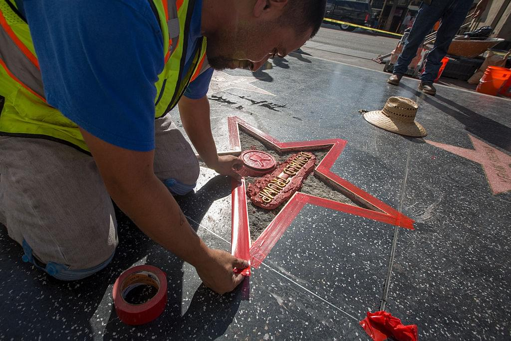 Donald Trump's Hollywood Walk Of Fame Star Voted To Be Removed