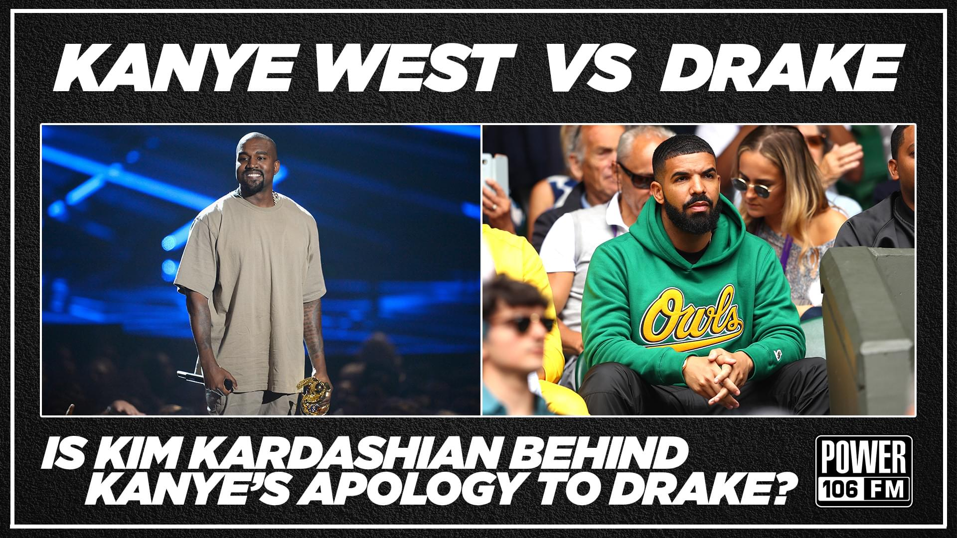 Is Kim Kardashian Behind Kanye's Apology To Drake? [LISTEN]