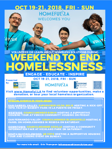 Weekend to End Homelessness