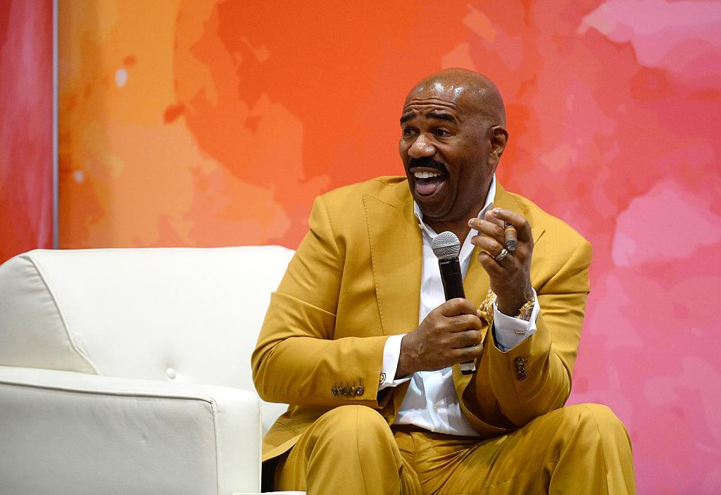 steve harvey responds to pusha t diss track line with pusher t who