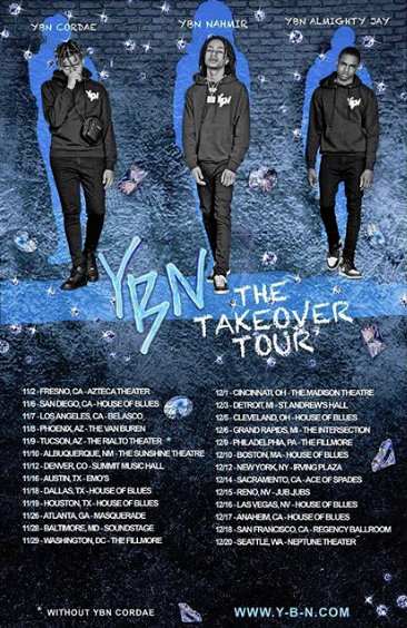 Live Nation Presents: YBN Takeover Tour