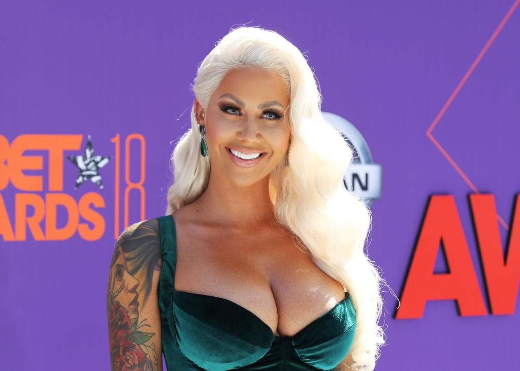 Amber Rose Lets Her Five-Year-Old Son Sebastian Curse At Home