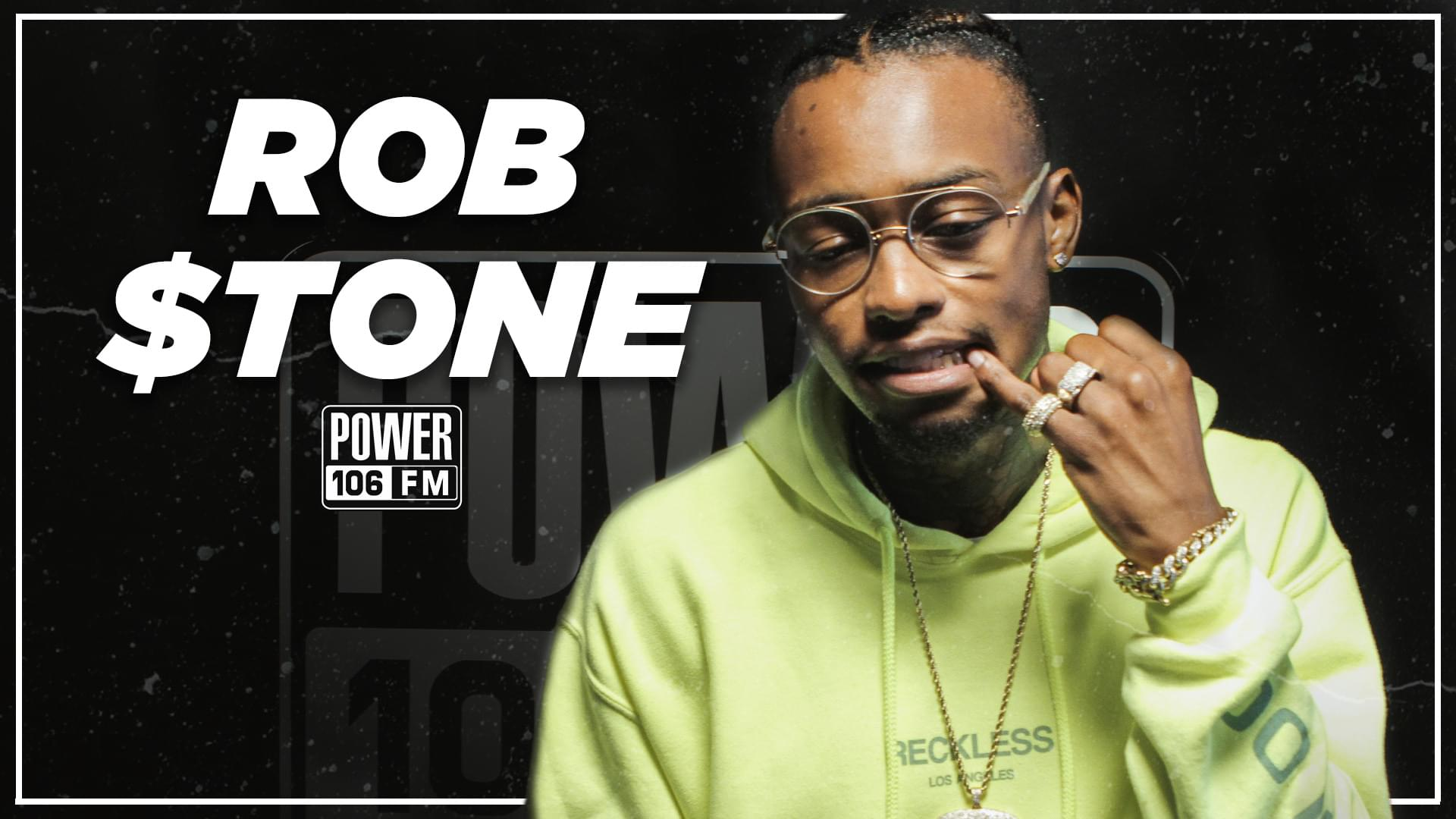 Rob $tone Talks P-Lo Collab, Squashing XXXtentacion Beef Before He Passed [WATCH]
