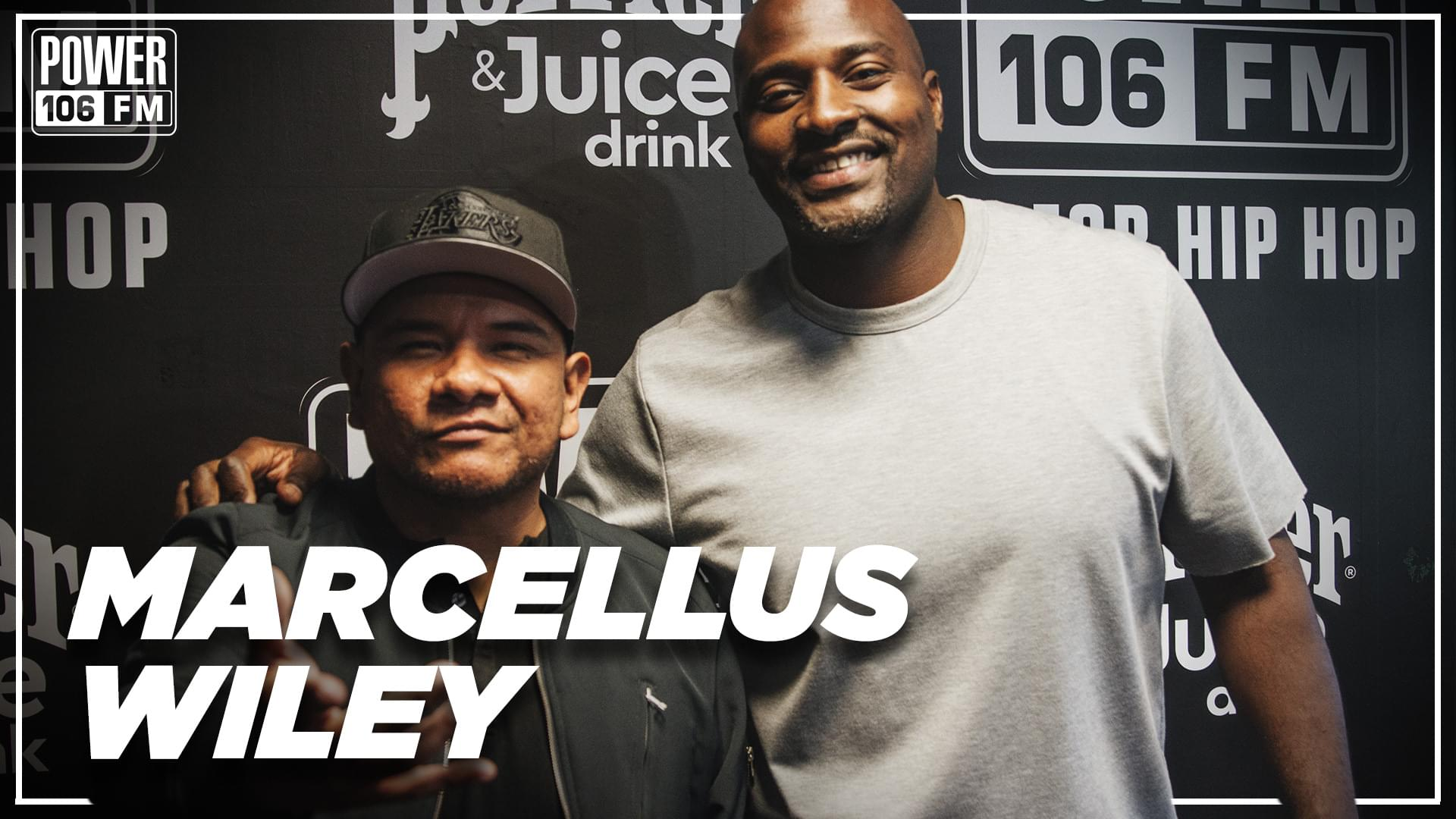Marcellus Wiley on Drake Beef, Colin Kaepernick + New Book 'Never Shut Up' [WATCH]