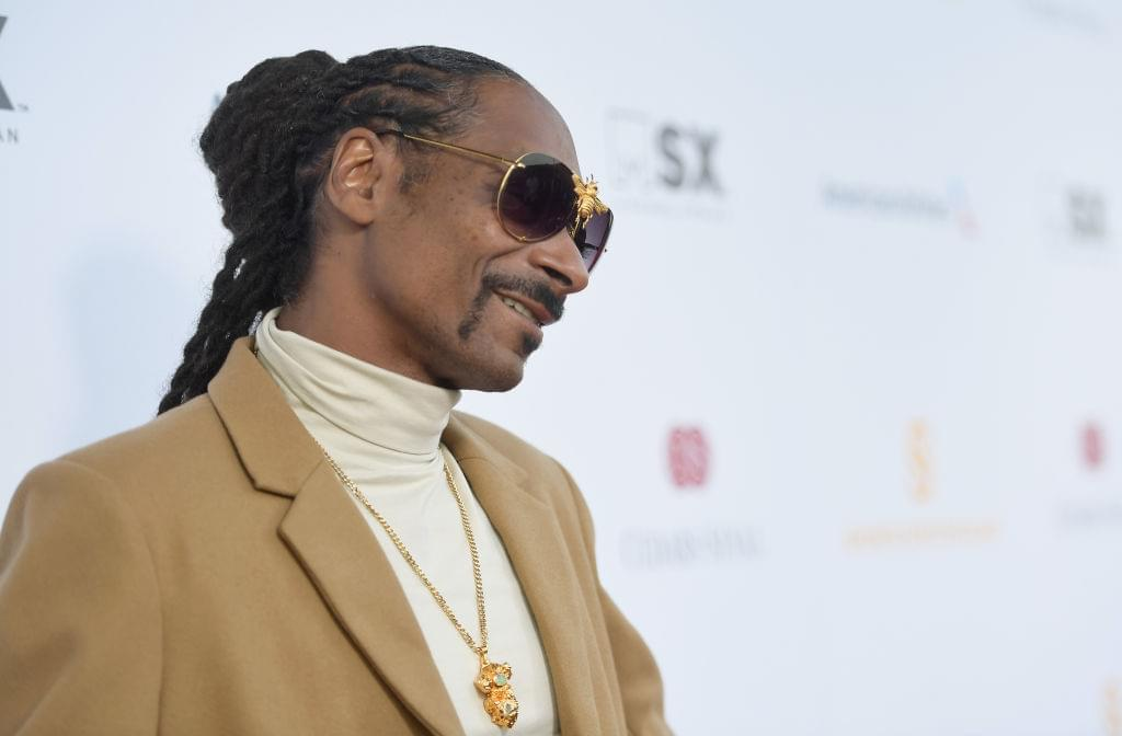 Snoop Dogg Receiving His Star On The Hollywood Walk Of Fame