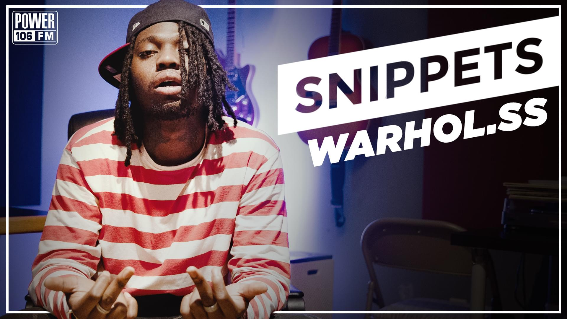 Exclusive in-studio #Snippets of Warhol.SS' new album 'Chest Pains' [WATCH]
