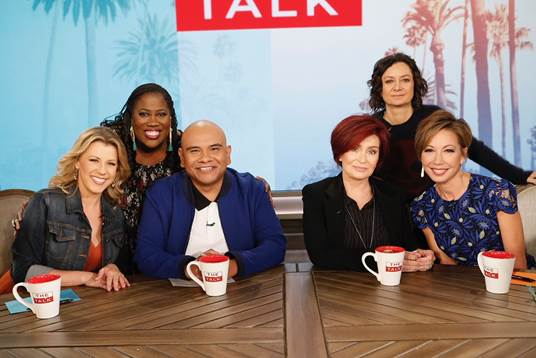 "J Cruz Makes Appearance On ""The Talk"" On CBS"