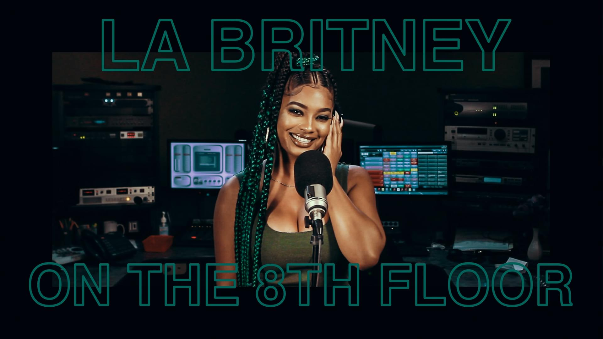 "La'Britney Performs ""Actin Funny"" LIVE #OnThe8thFloor [WATCH]"