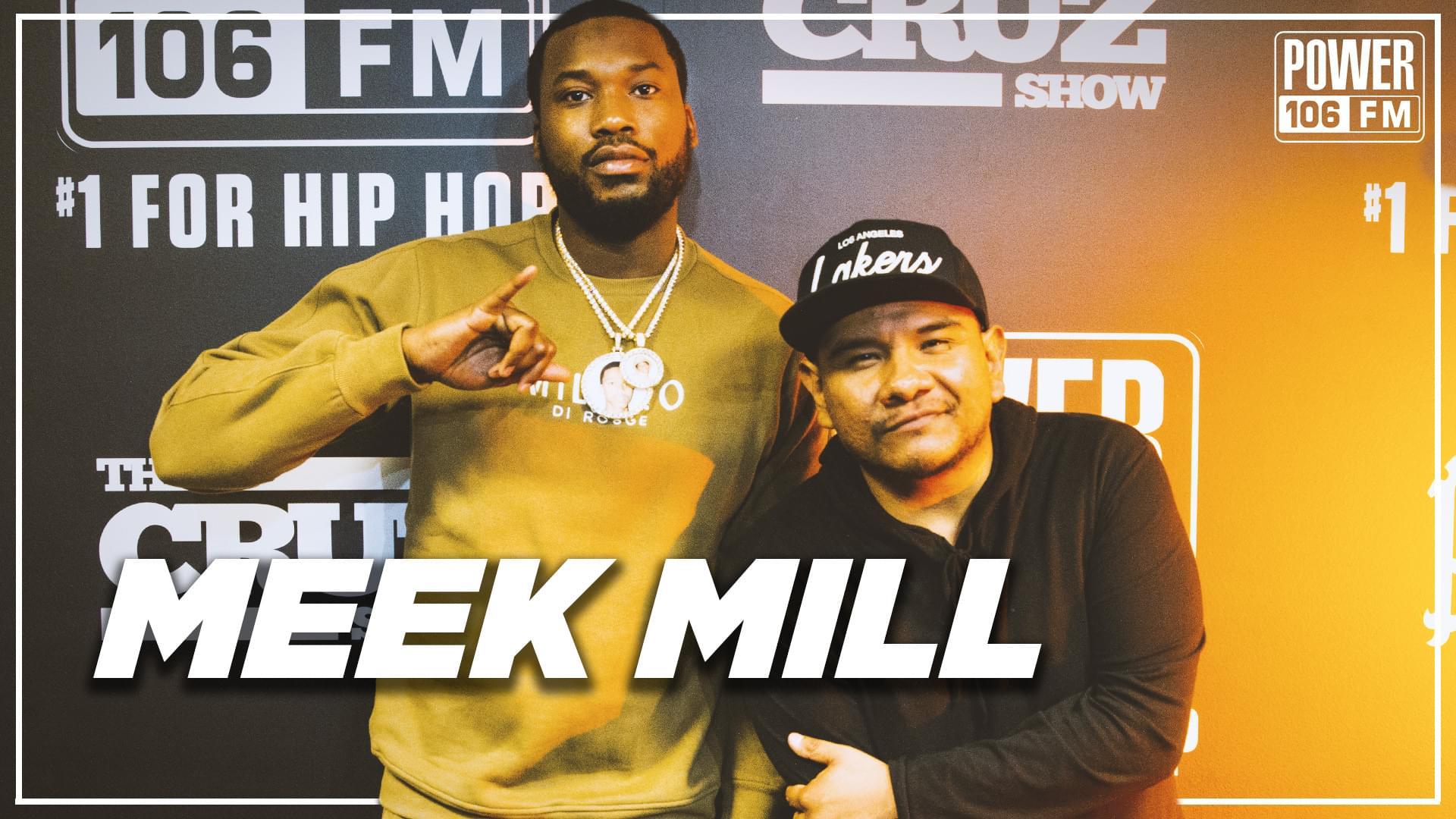 Meek Mill On 'Championships,' 6ix9ine's Arrest + Prison Reform