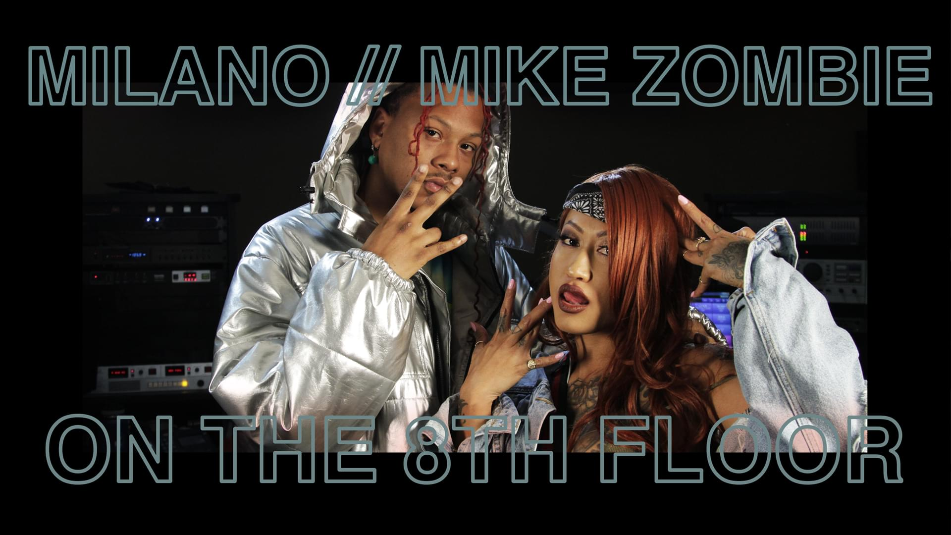 "ff9feeb0bfbf Milano   Mike Zombie Perform ""The Feels"" LIVE  OnThe8thFloor ..."