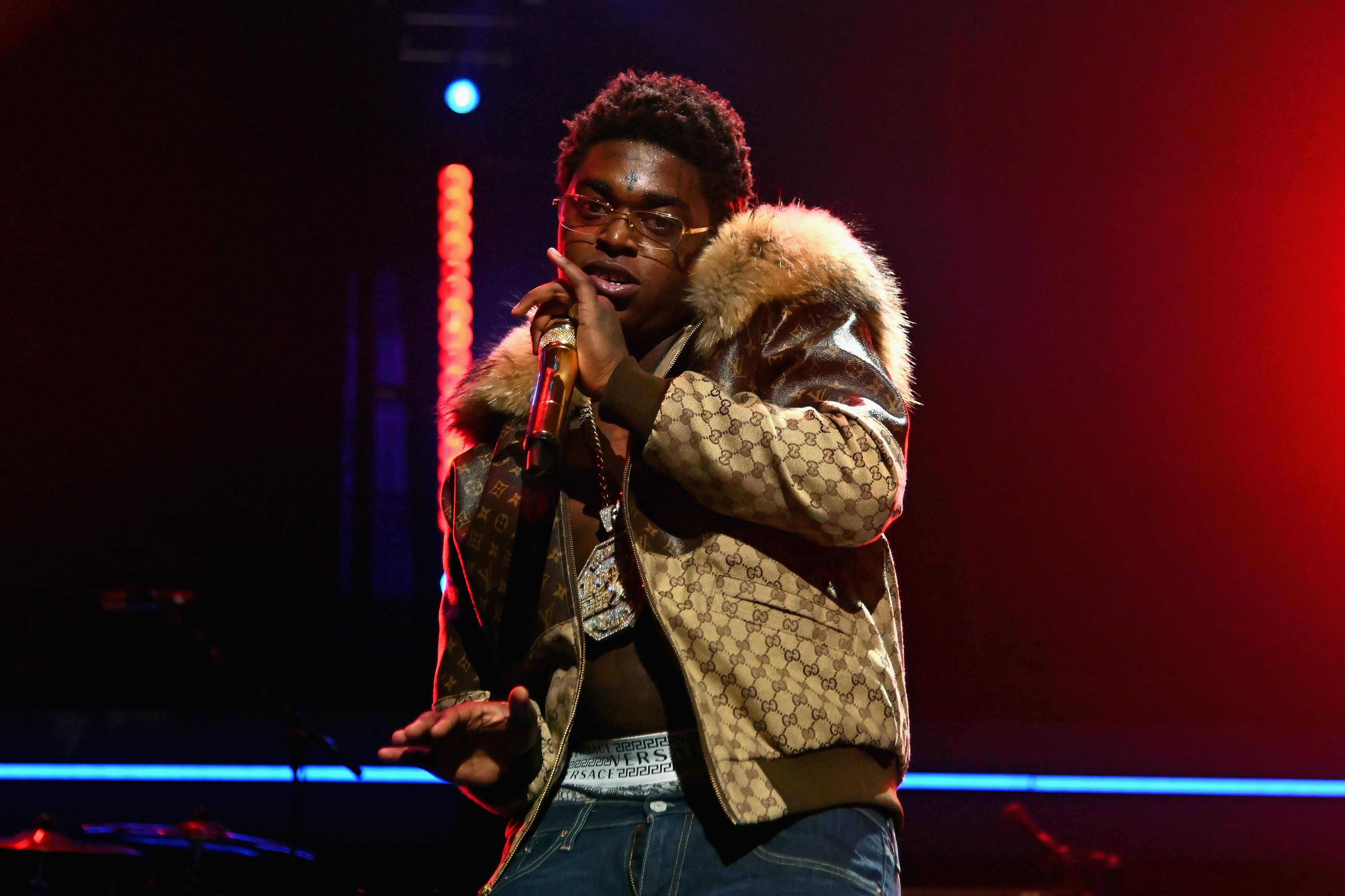 Kodak Black Proposes With Ring Pop!?