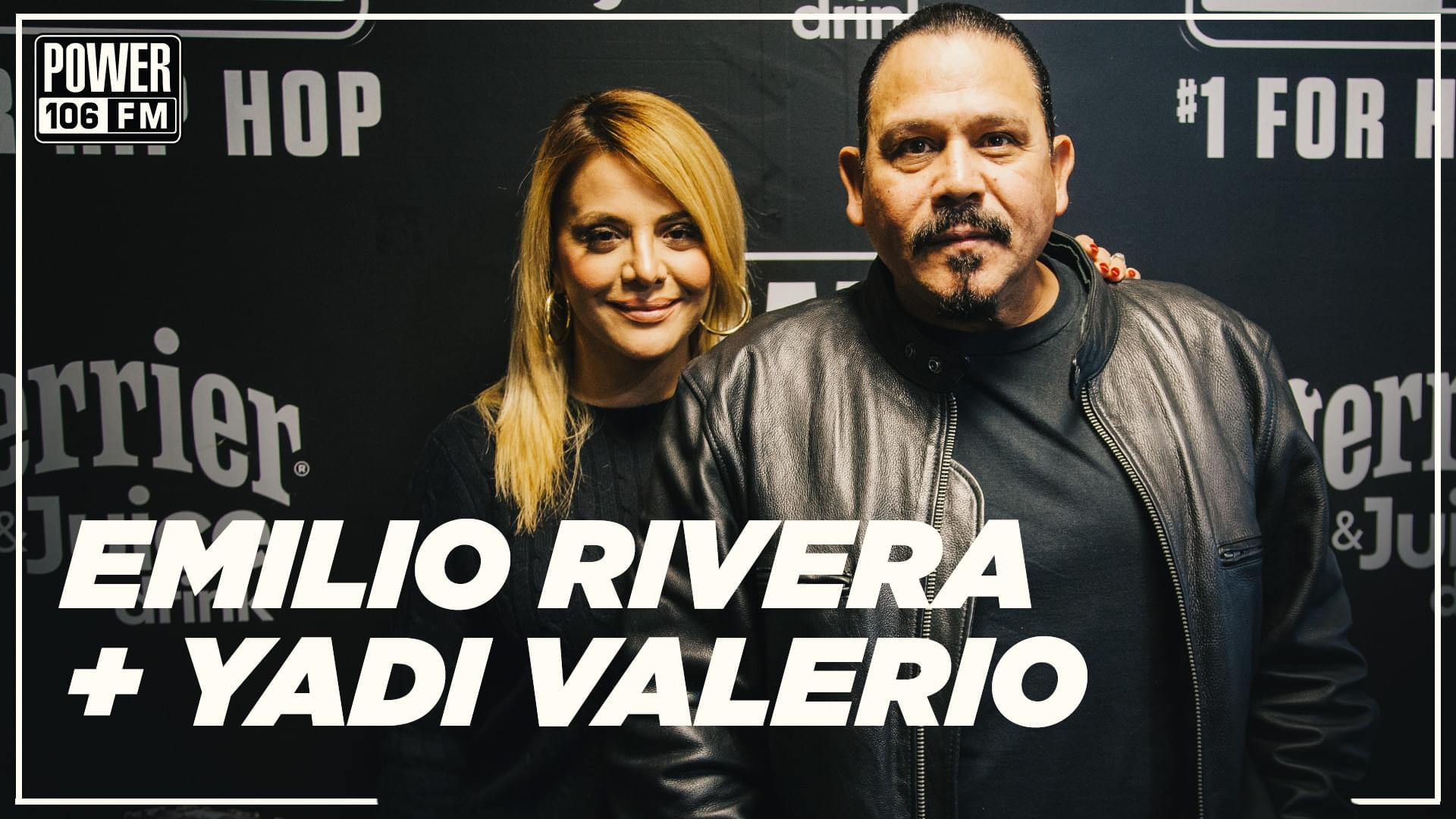 "Emilio Rivera & Yadi Valerio Talk New BET Series 'The Family Business"" + On & Off-Screen Chemistry"