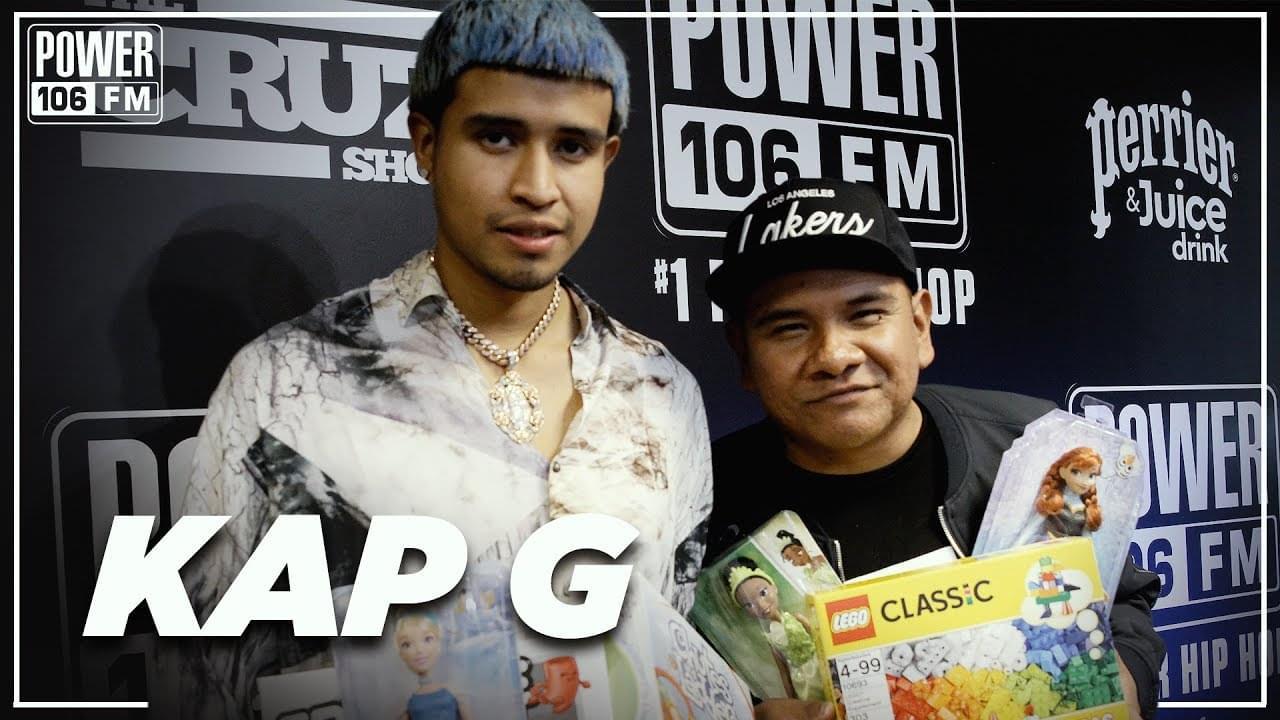 Kap G Talks Wanting To Collab w/ Meek Mill + Pharrell & T.I. Influence
