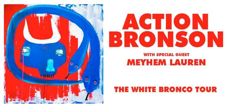Action Bronson- White Bronco Tour